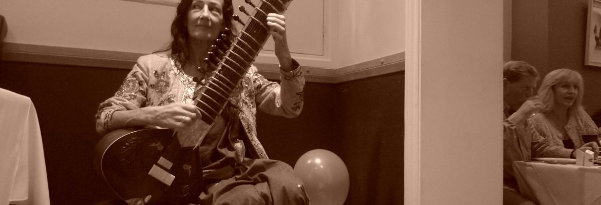 Anniversary night Garima sitar player