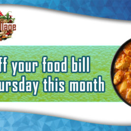 Spice Village 25% off food in January